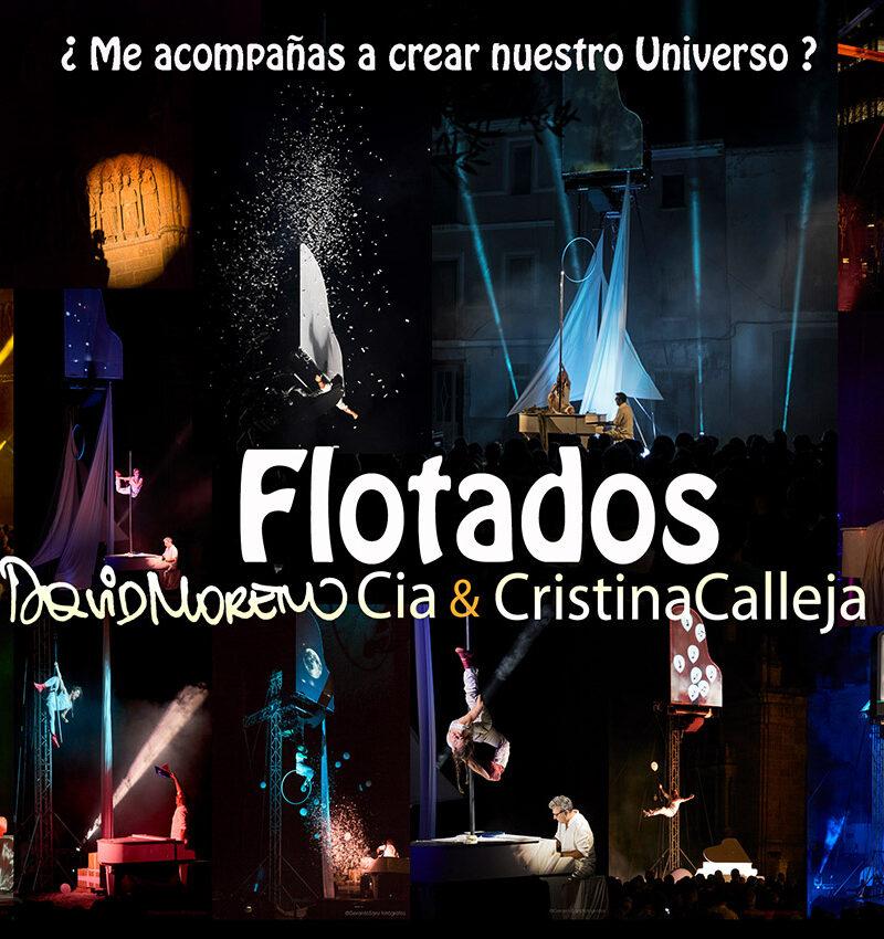 44 FTEE – «Gran fiesta del teatro de calle» – «Flotados»- Cía. David Moreno & Cristina Calleja