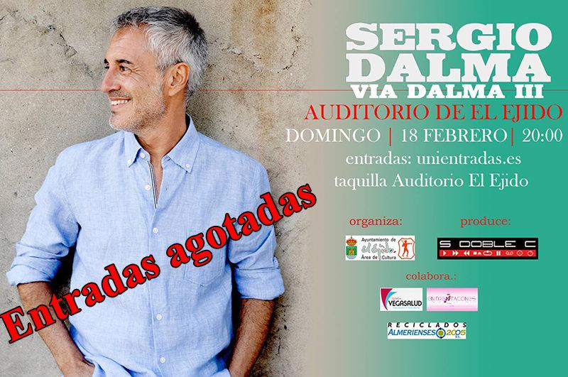 """Sergio Dalma """"Vía Dalma III"""" – Domingo 18 de febrero, Auditorio de El Ejido 20 h"""