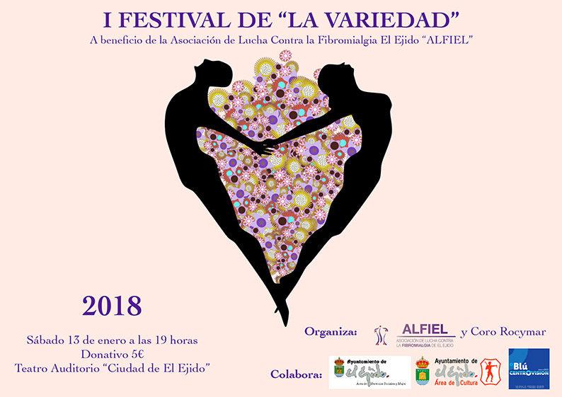 """Gala Asociación ALFIEL """"Nuestra diversidad"""" – Sábado 13 de enero, Auditorio 19 h"""