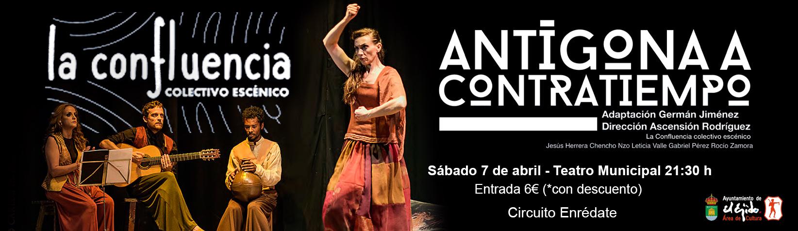 "La Confluencia ""Antigona de Sófocles"""