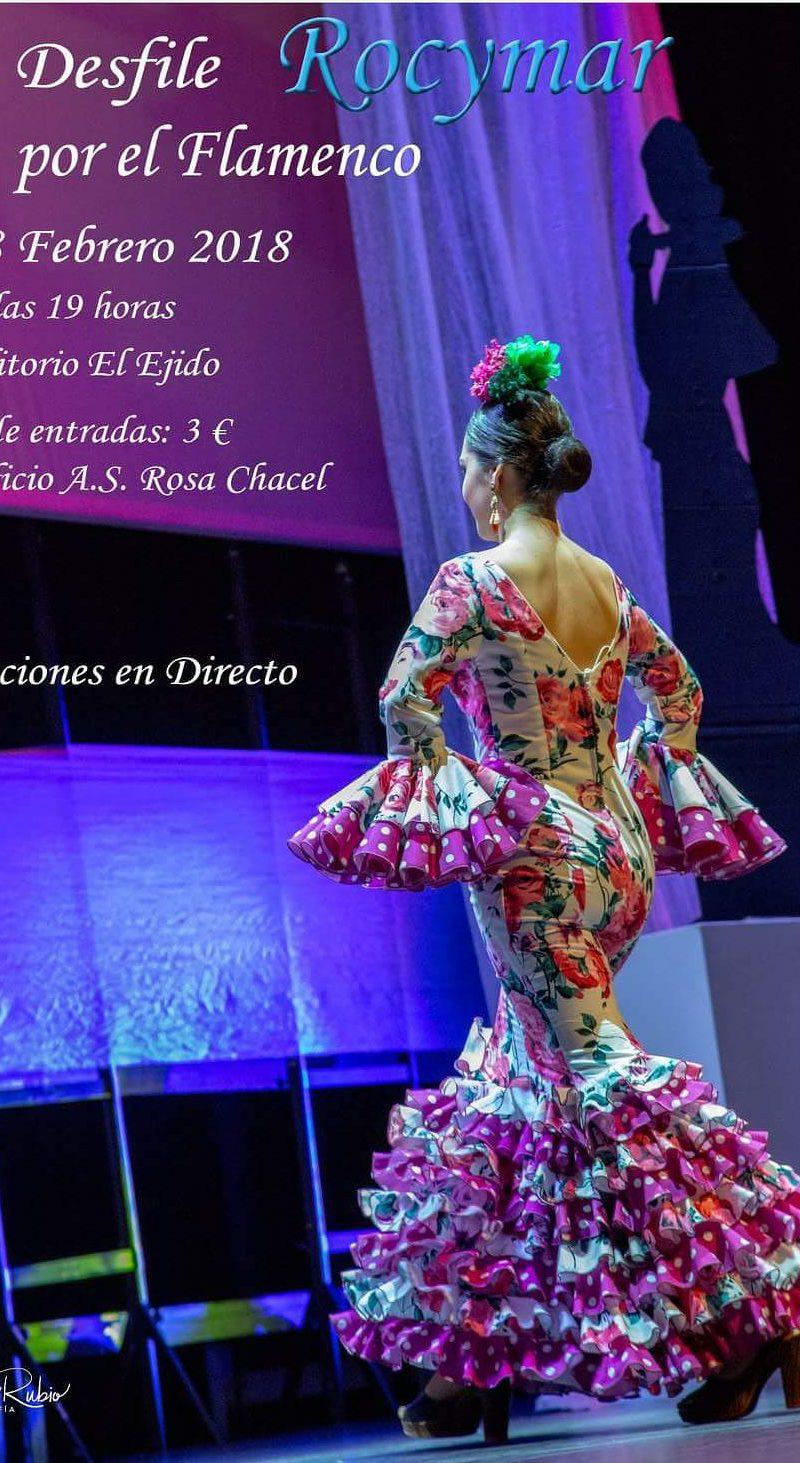 Desfile de moda flamenca Rocymar – Miércoles 28 de febrero, Auditorio 19 h