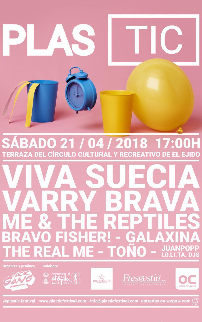 II Plastic Festival – Sábado 21 de abril, Círculo Cultural y Recreativo 17 h