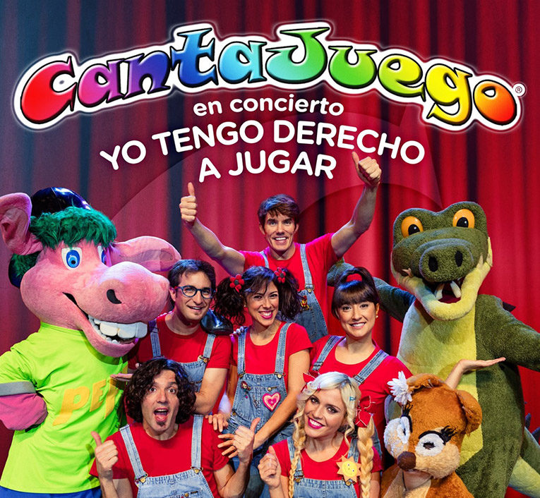 """Cantajuego """"Yo tengo derecho a jugar"""" – Domingo 6 de mayo,  Auditorio de El Ejido 12:30 y 17 h"""