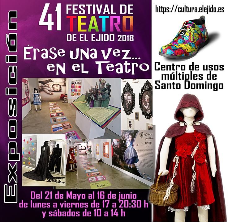 """FTE18 Exposición """"Érase una vez… en el teatro"""""""