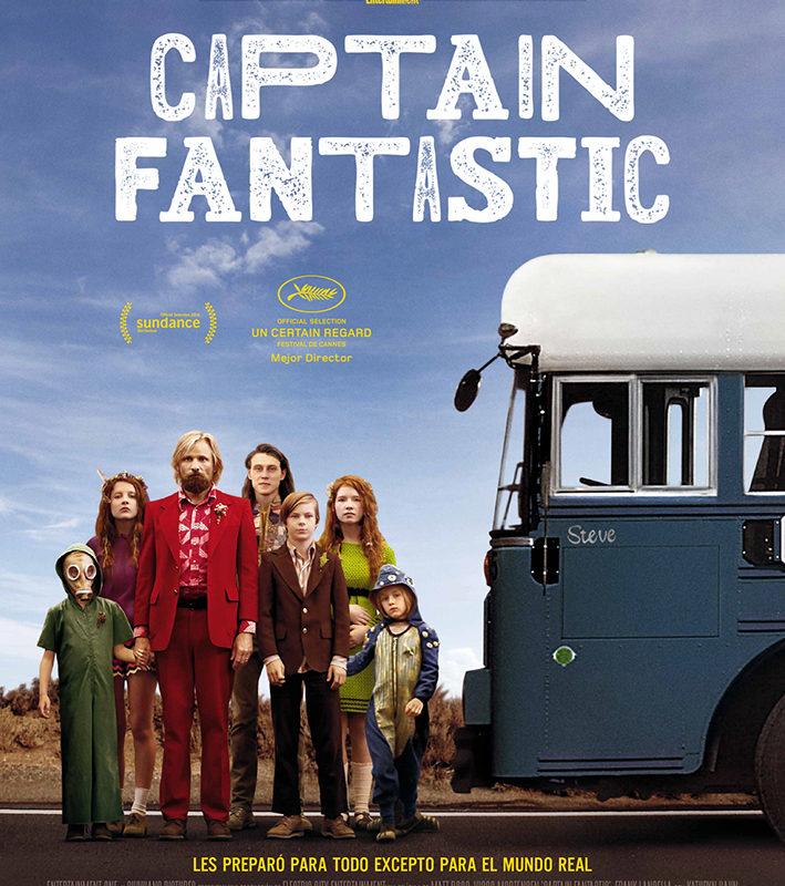 Cine de Verano – Las Norias – Captain Fantastic