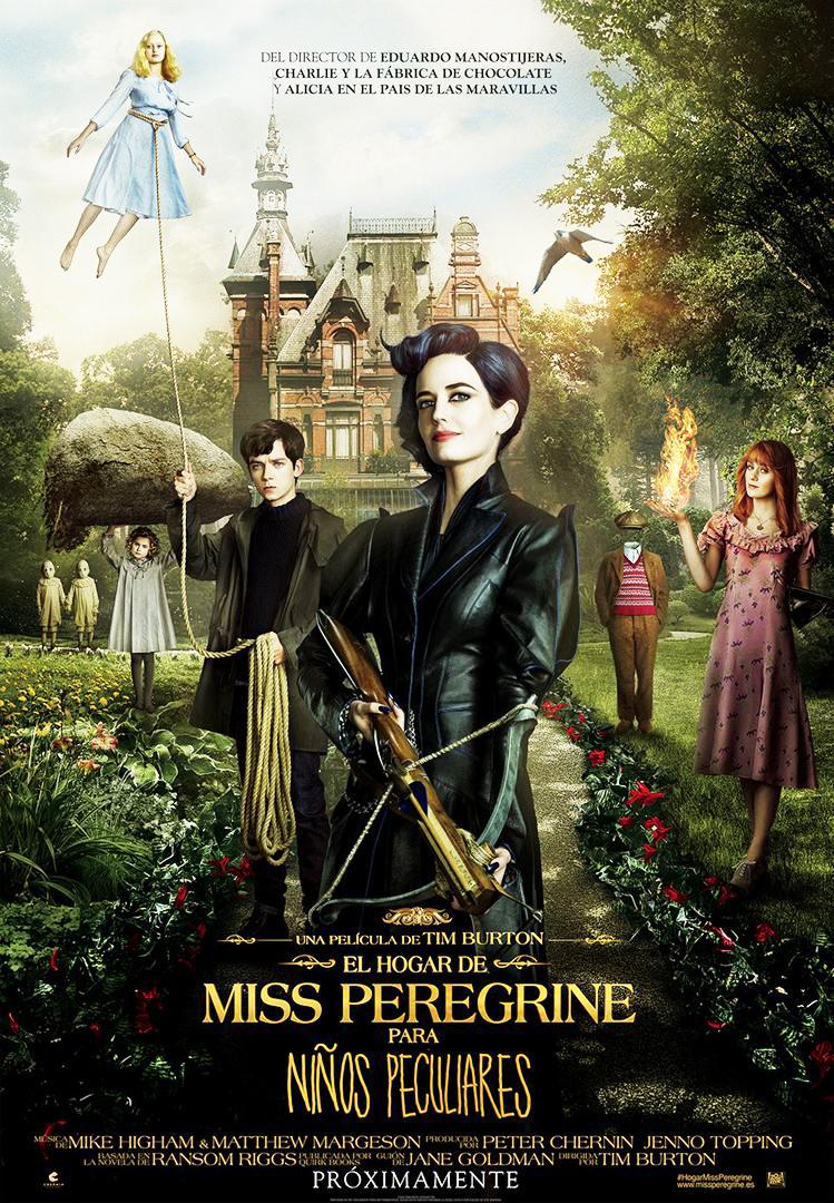 Cine de Verano – Almerimar – El homar de Miss Peregrine
