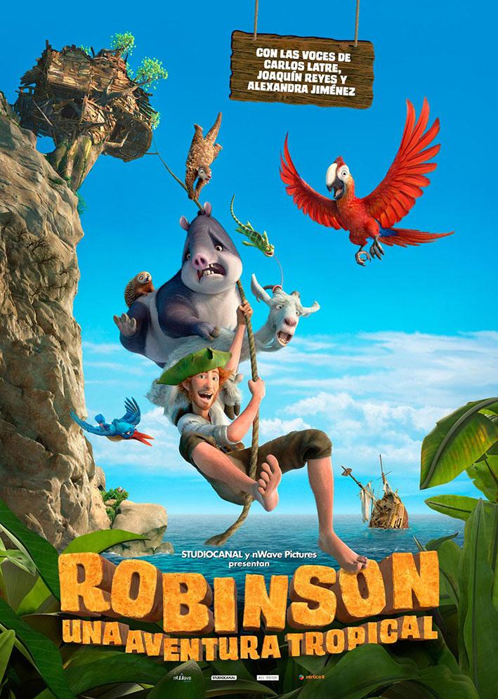 Cine de Verano – San Agustín – Robinson