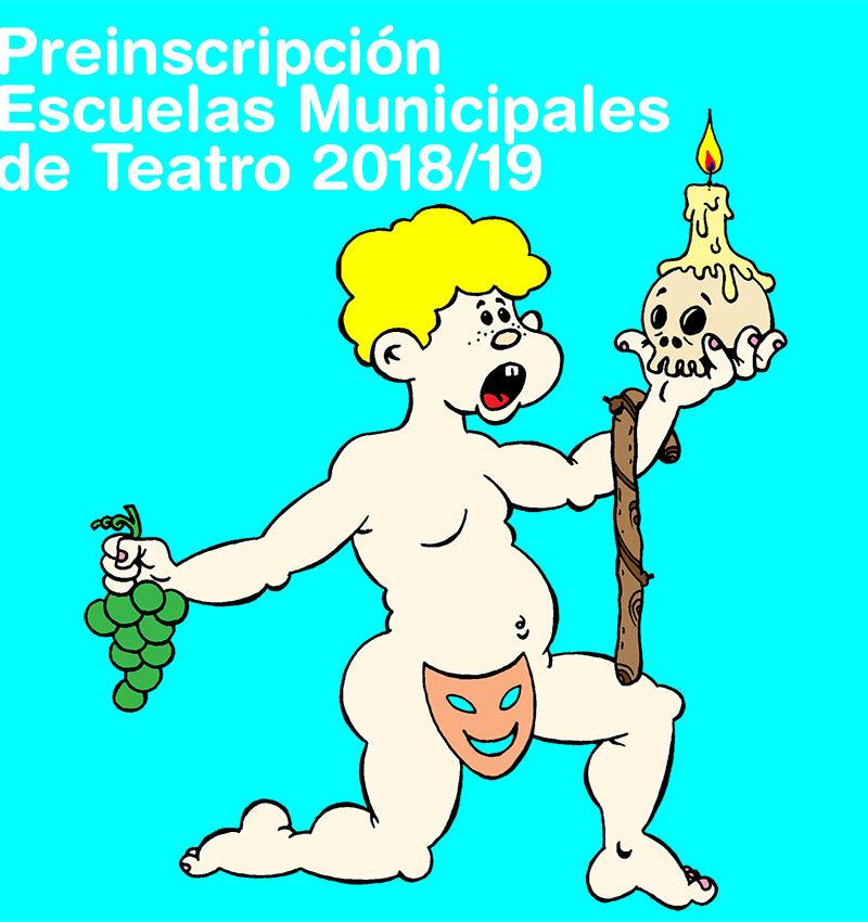 Preinscripción en las Escuelas Municipales de Teatro 2018/19