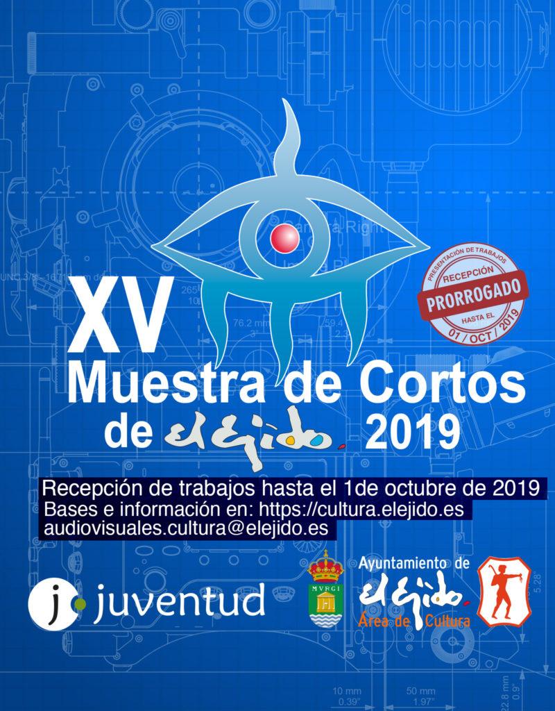 Avance de Bases de la XV Muestra de Cortos de El Ejido 2019 – Recepción de trabajos hasta el 01/10/2019