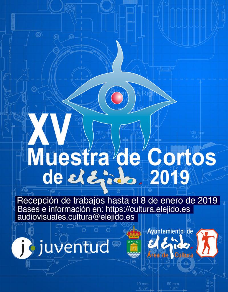 Avance de Bases de la XV Muestra de Cortos de El Ejido 2019 – Recepción de trabajos hasta el 08/01/2019
