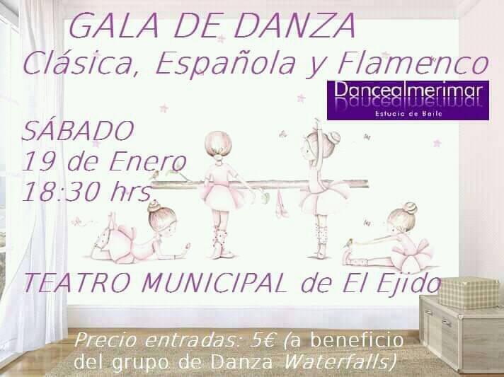 Invierno primavera 19 – Otras actividades de carácter artístico – Gala Dance Almerimar