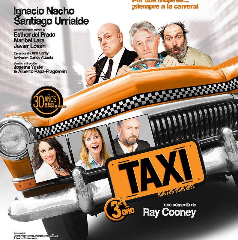 """Invierno primavera 19 – Josema Yuste, Ignacio Nacho y Santiago Urrialde """"Taxi"""""""