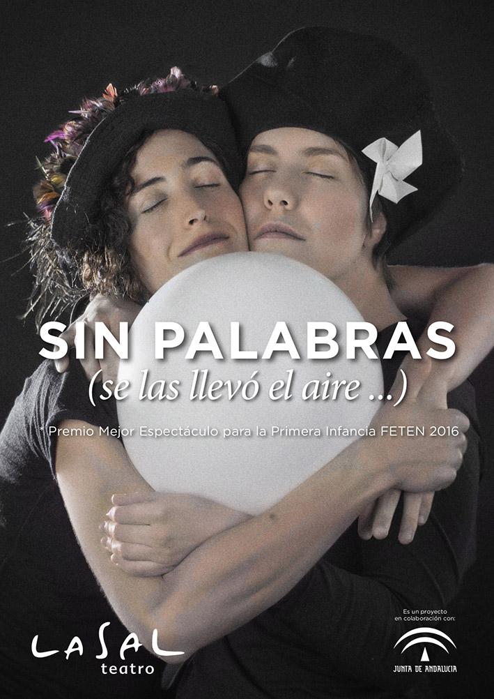 """Invierno primavera 19 – Teatro para centros educativos """"Sin palabras"""""""