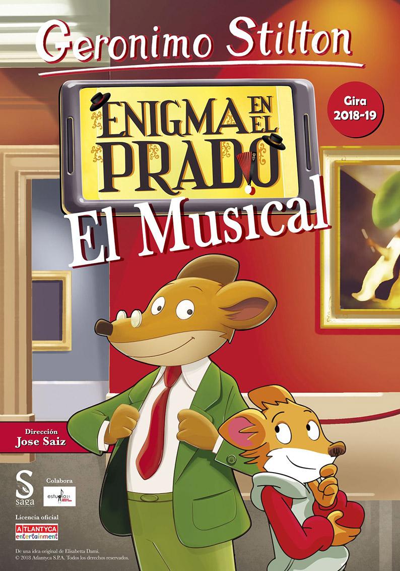 """FTE19 19/05/2019 Saga Producciones """"Gerónimo Stilton, enigma en el Prado"""""""