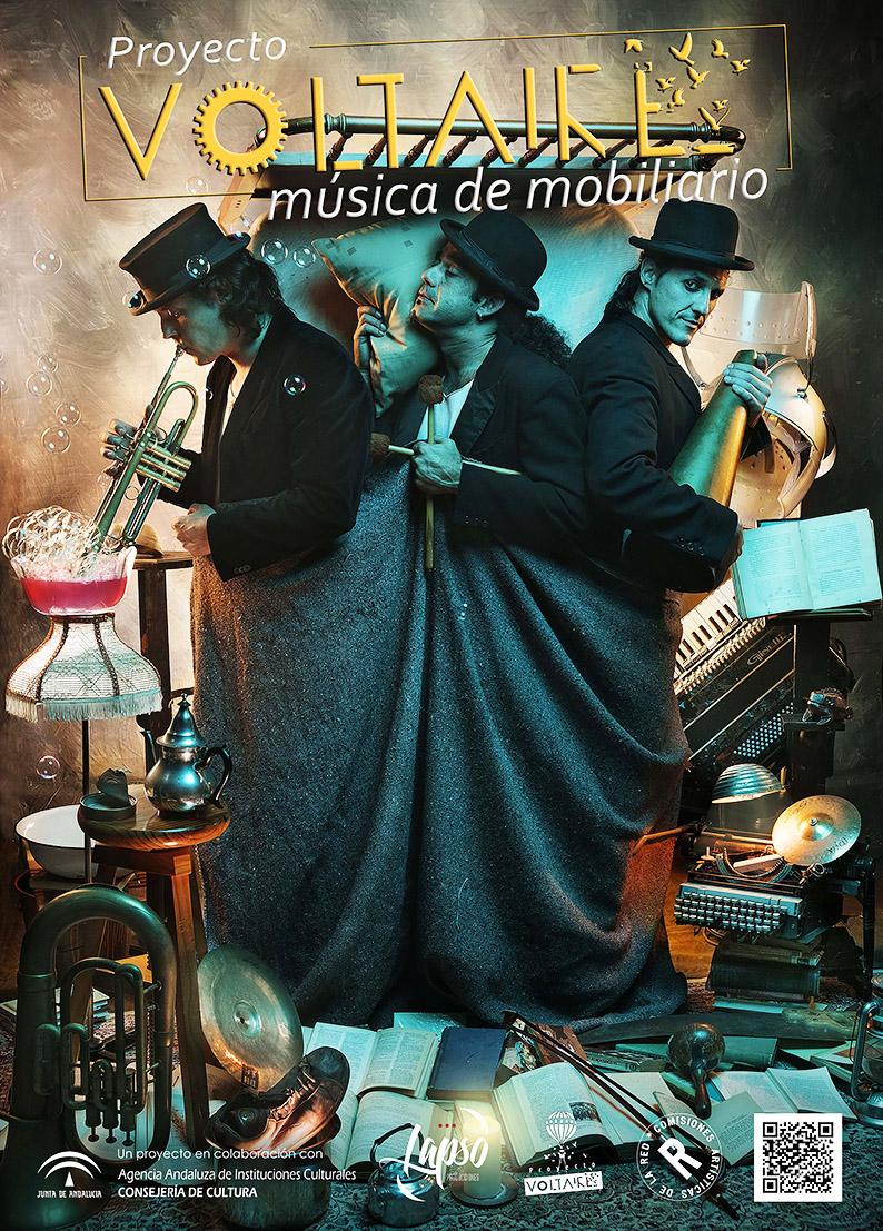"""FTE19 1/06/2019 Proyecto Voltaire """"Música de mobiliario"""""""