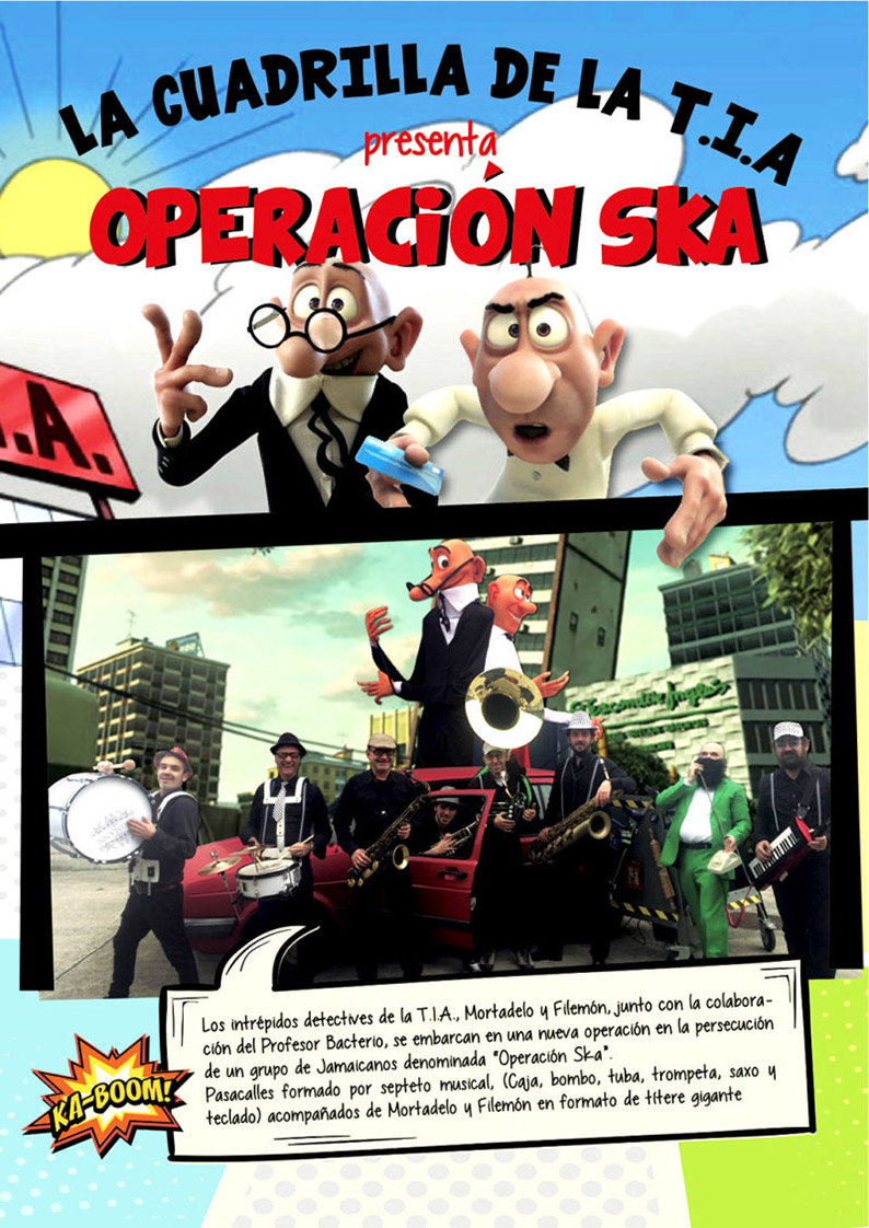 """FTE19 1/06/2019 La cuadrilla de la T.I.A. """"Operación Ska"""""""