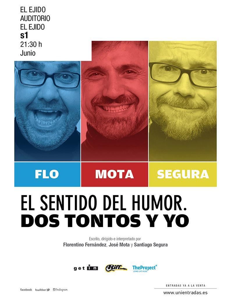 """FTE19 1/06/2019 The Project, Riff y Getin Prod. """"El sentido del humor, dos tontos y yo"""""""