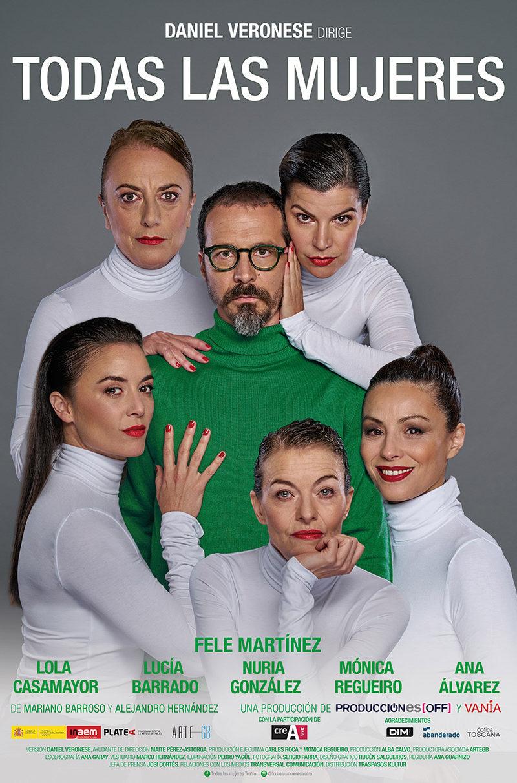 """FTE19 31/05/2019 Producciones Off y Vanía """"Todas las mujeres"""""""