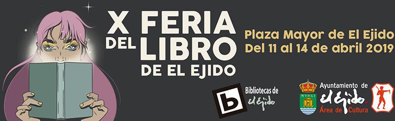 X Feria del libro de El Ejido 2019