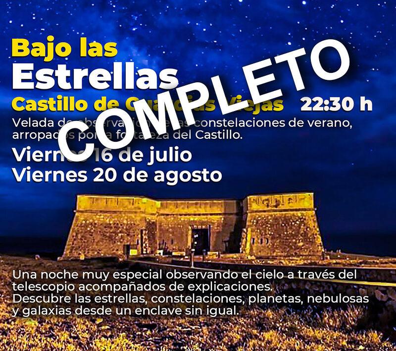 Verano Cultural 2021 – Bajo las estrellas – Castillo de Guardias Viejas