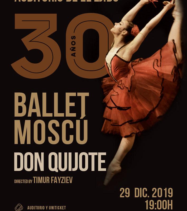 "Otoño Cultural 19 – Ballet de Moscú ""Don Quijote"""