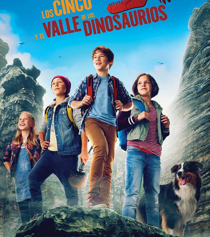 Verano Cultural 2020 – Cine «Los cinco y el valle de los dinosaurios» Almerimar