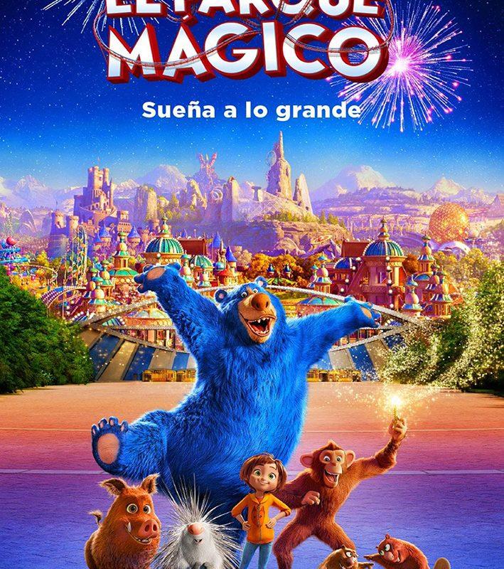 Verano Cultural 2020 – Cine «El parque mágico» Almerimar