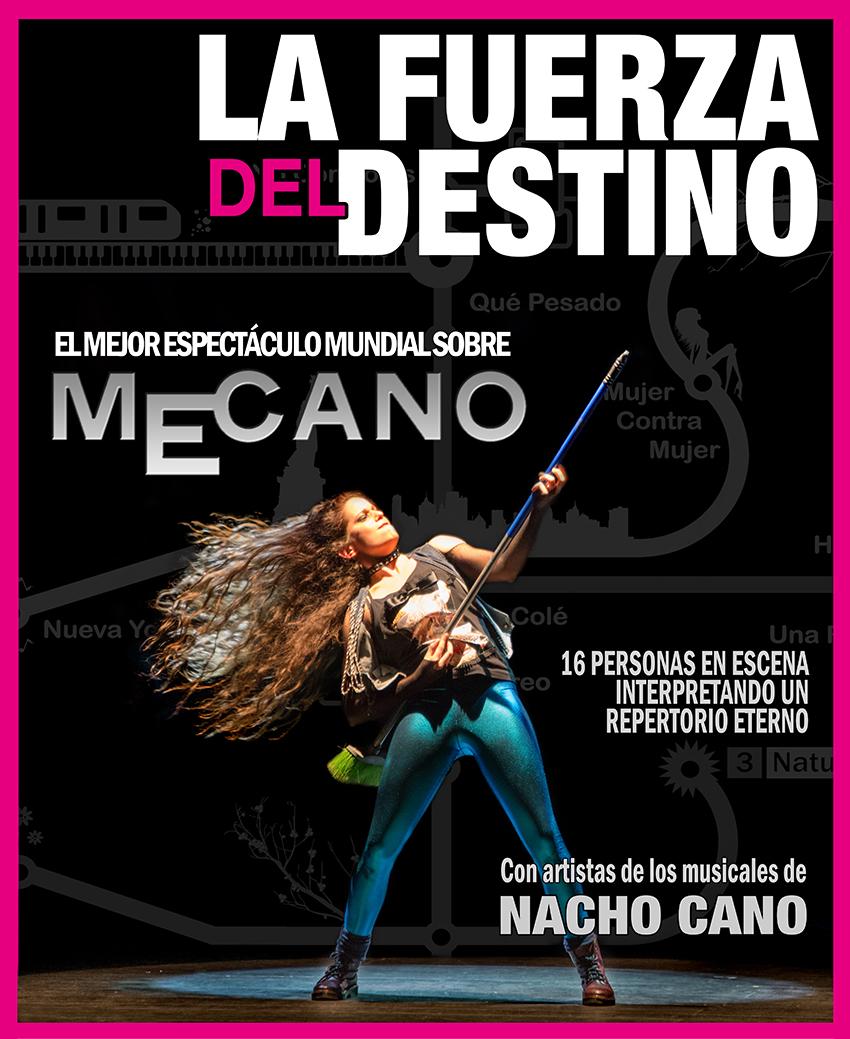 """""""La fuerza del destino"""" Espectáculo homenaje a Mecano"""