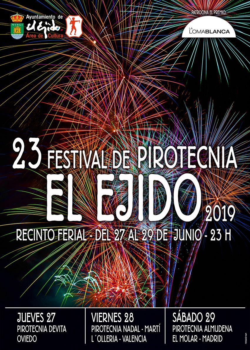 San Isidro 2019 Festival de Pirotecnia