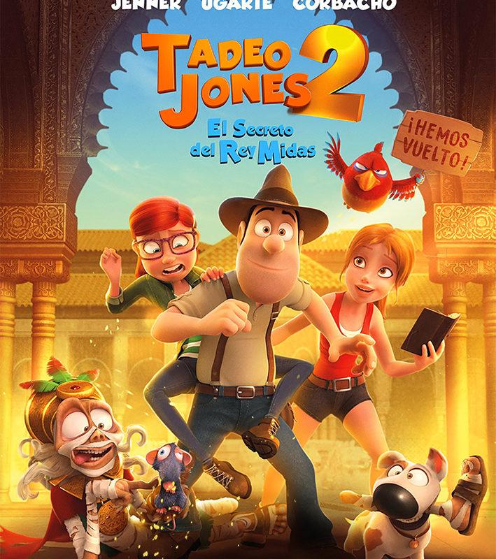 Cine de Verano 2019 – El Ejido – Tadeo Jones 2