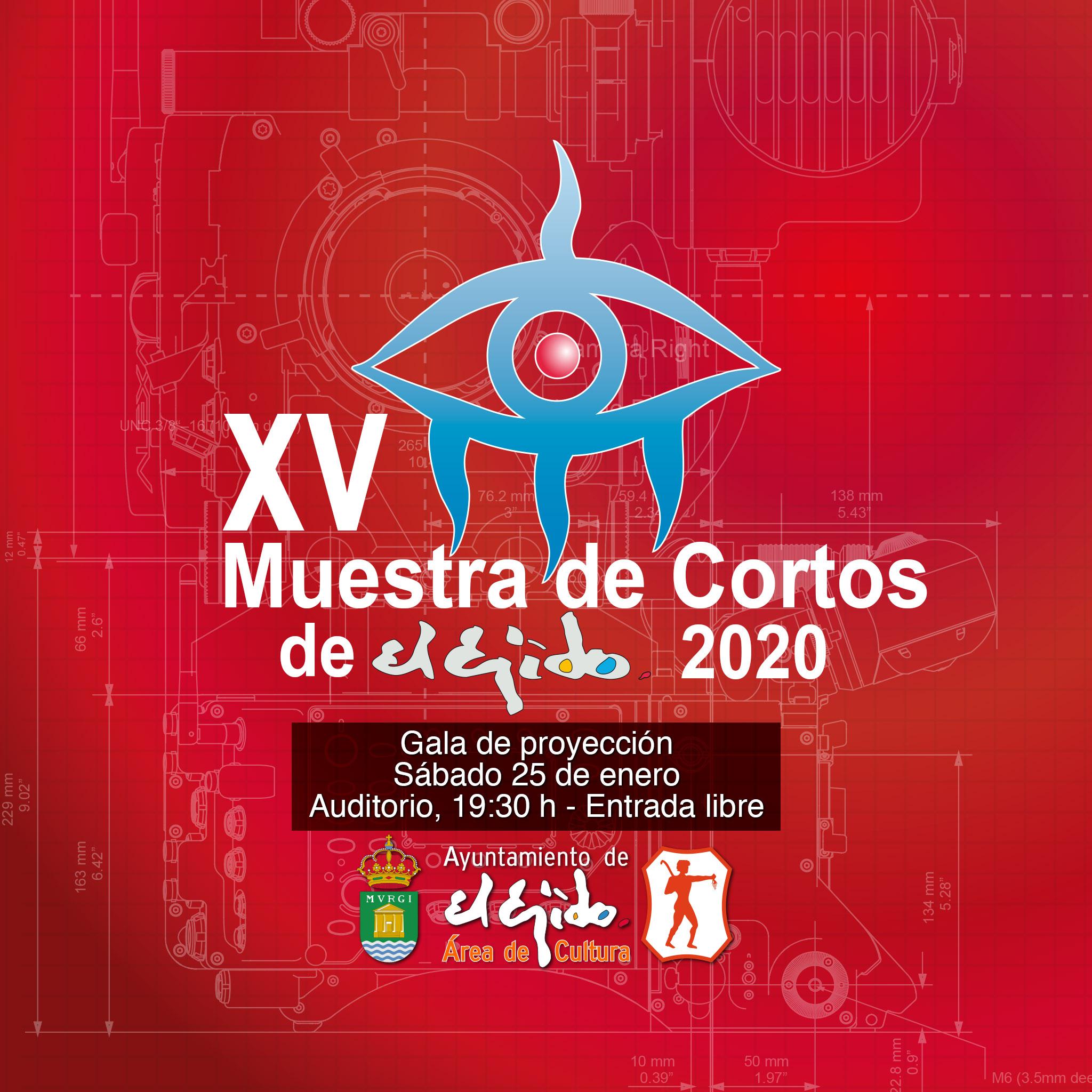 XV Muestra de Cortos de El Ejido 2020 – sábado 25 de enero
