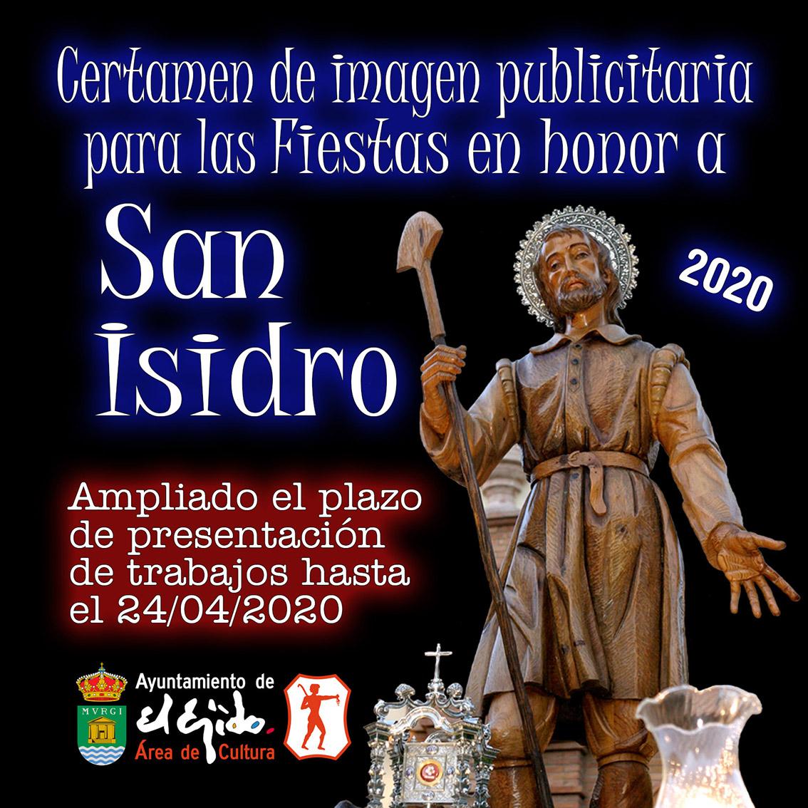 Certamen de imagen publicitaria para las fiestas de San Isidro 2020