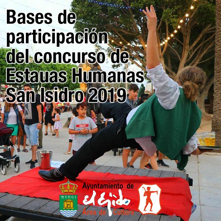 Bases de participación del concurso de Estatuas Humanas San Isidro 2019