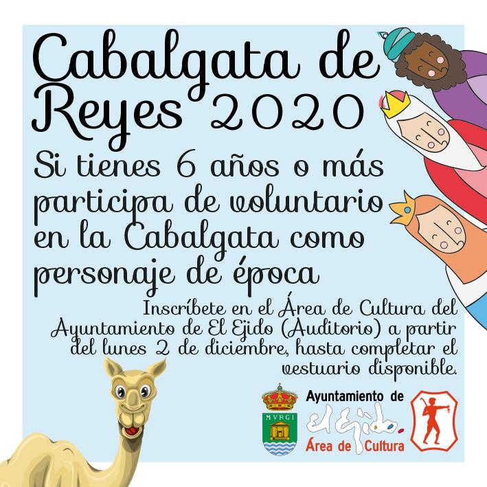 Voluntarios Cabalgata de Reyes