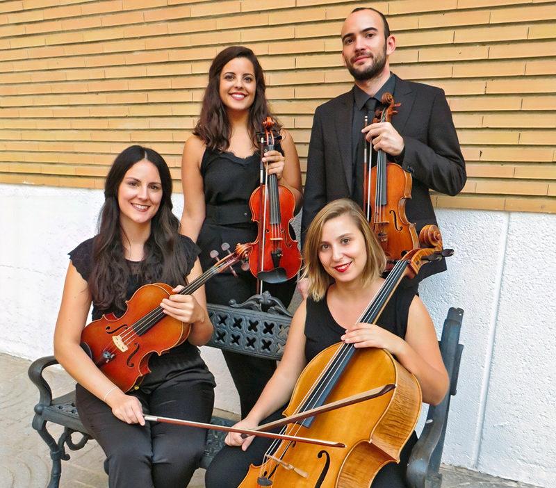 """Otoño Cultural 19 – Cuarteto Jordán """"El cuarteto de cuerda a través del tiempo"""""""