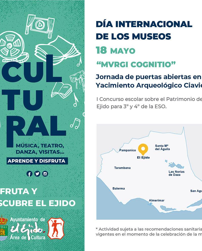 Día internacional de los museos 18 de mayo – El Ejido Cultural 2021