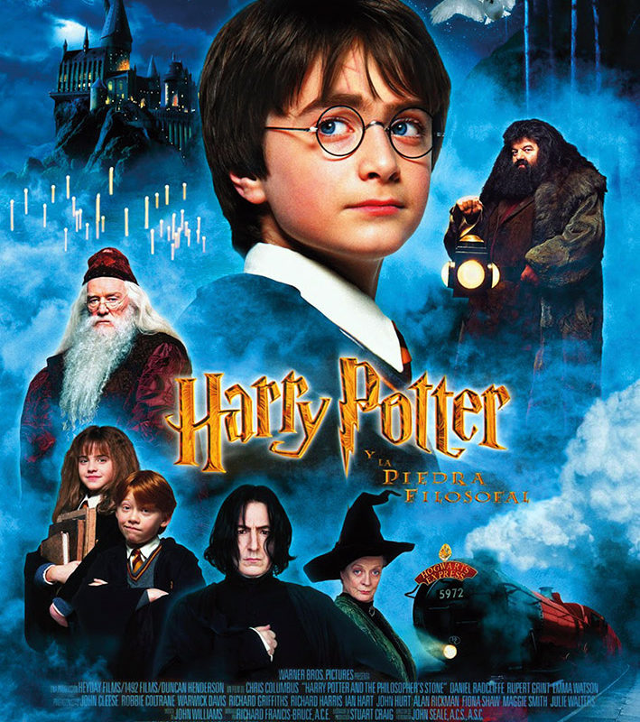 Otoño Cultural 19 – Ciclo de cine familiar Saga Harry Potter – Harry Potter y la piedra filosofal
