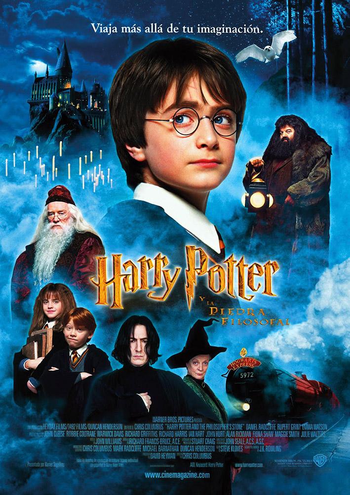 Otoño Cultural 19 – Ciclo de cine familiar Saga Harry Potter – Harry Potter y la piedra filosofal