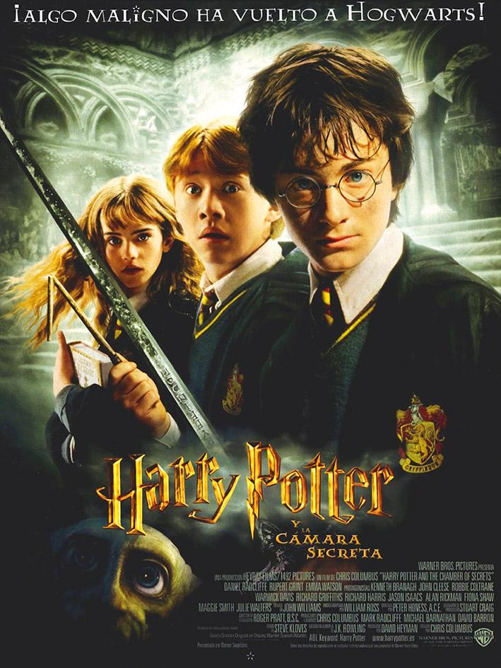 Otoño Cultural 19 – Ciclo de cine familiar Saga Harry Potter – Harry Potter y la cámara secreta