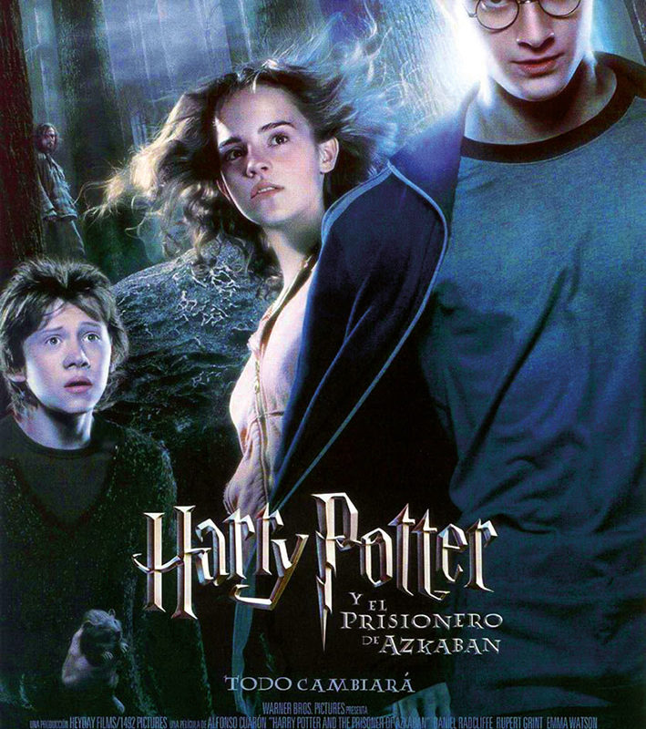 Otoño Cultural 19 – Ciclo de cine familiar Saga Harry Potter – Harry Potter y el prisionero de Azkaban