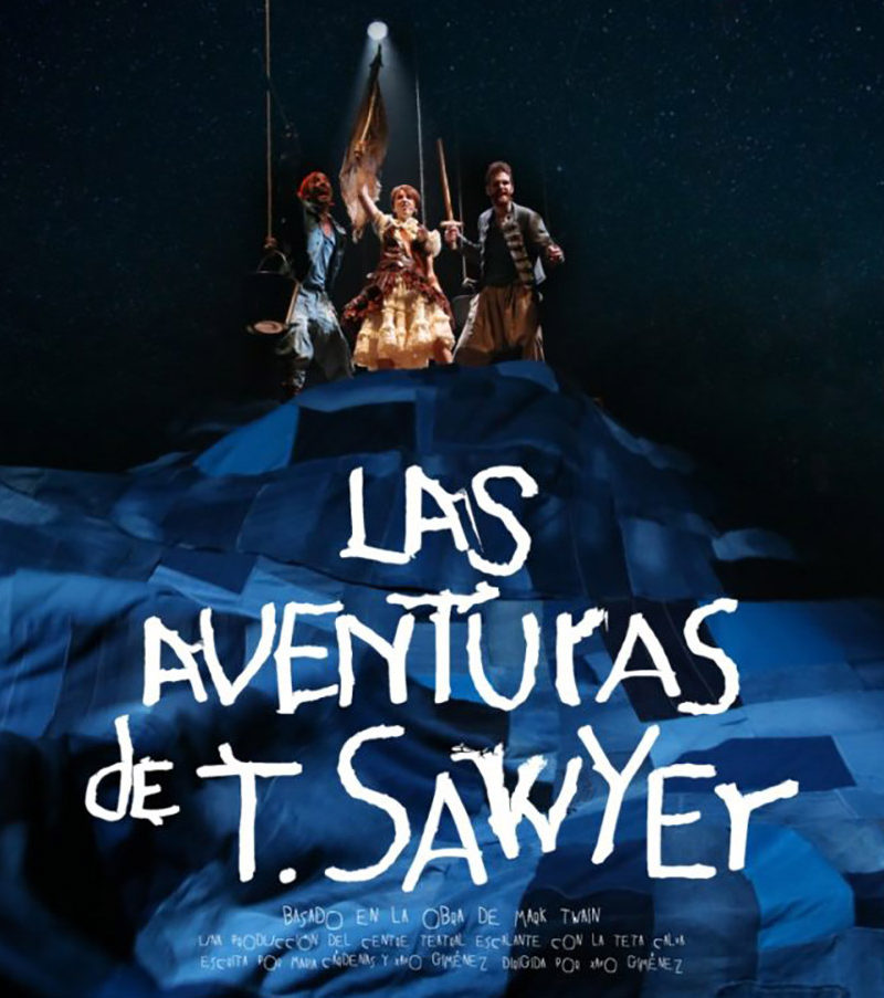 "Otoño Cultural 19 – La Teta Calva ""Las aventuras de T. Sawyer"