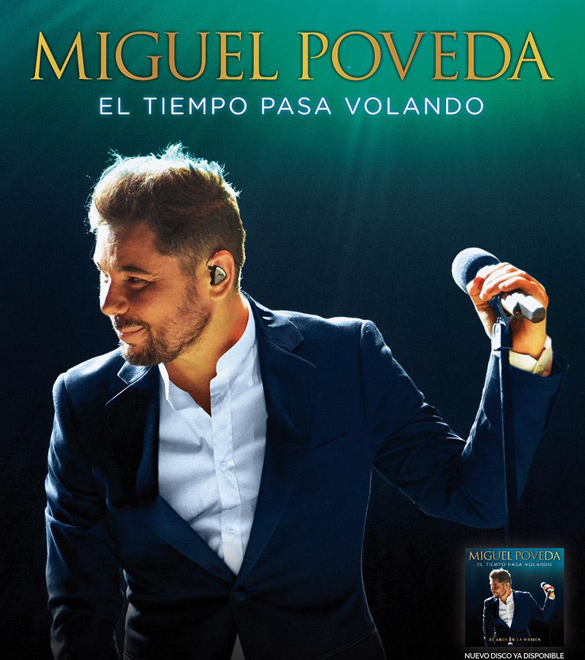"""Otoño Cultural 19 – Miguel Poveda """"El tiempo pasa volando"""""""