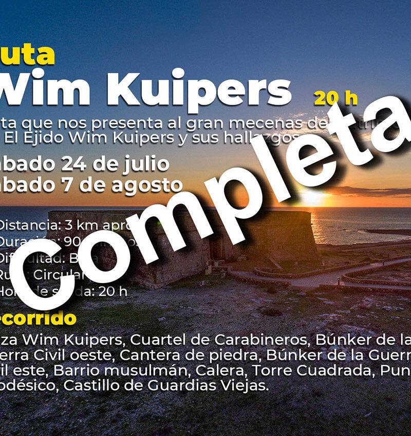 Verano Cultural 2021 – Ruta Win Kuipers