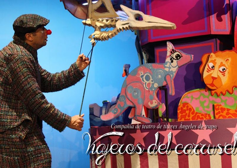 Verano Cultural 2020 – Teatro «Viajeros del carrusel» Balerma