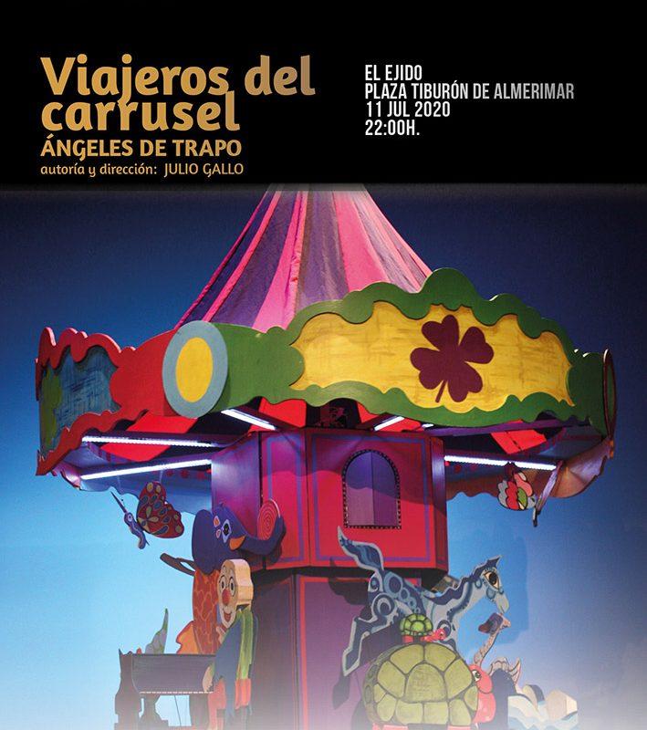 Verano Cultural 2020 – Teatro «Viajeros del carrusel» Almerimar