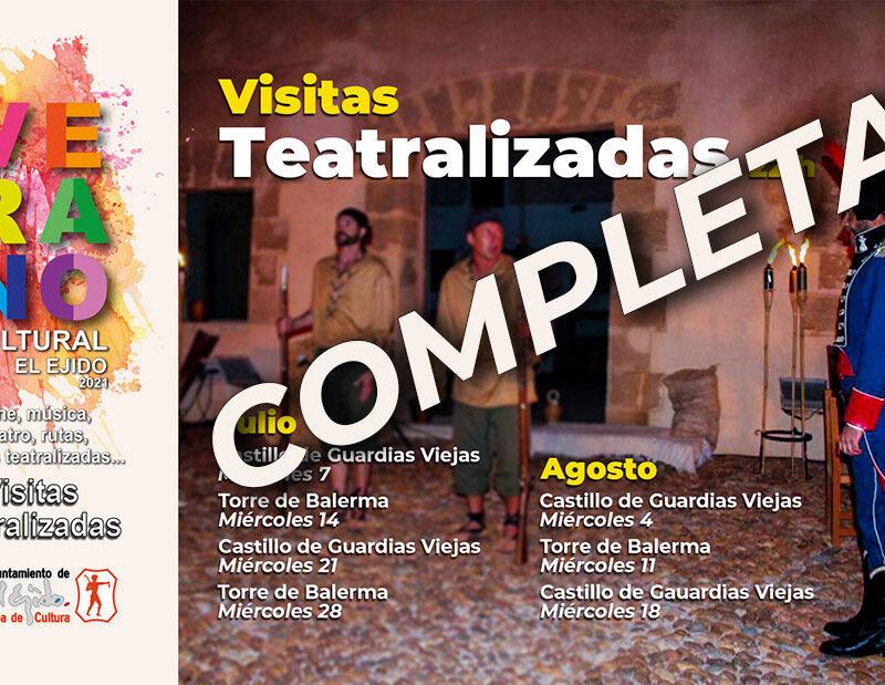Verano Cultural 2021 – Visitas teatralizadas – Torre de Balerma