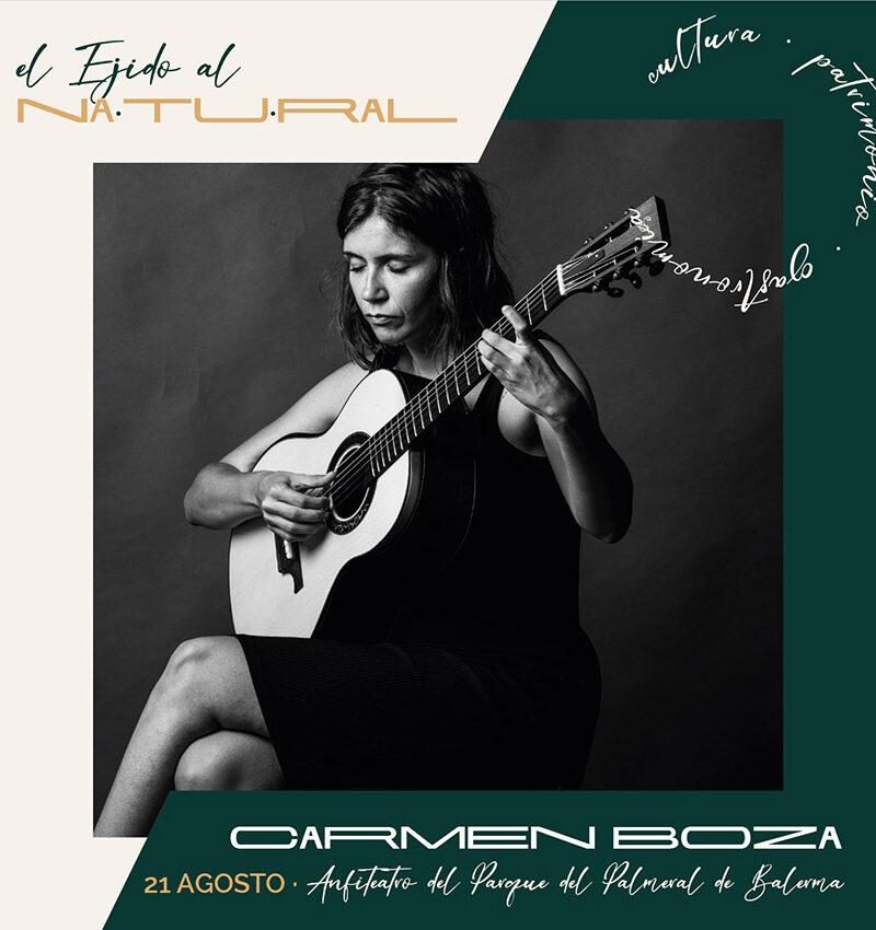 Verano Cultural 2021 – El Ejido al natural «Carmen Boza»