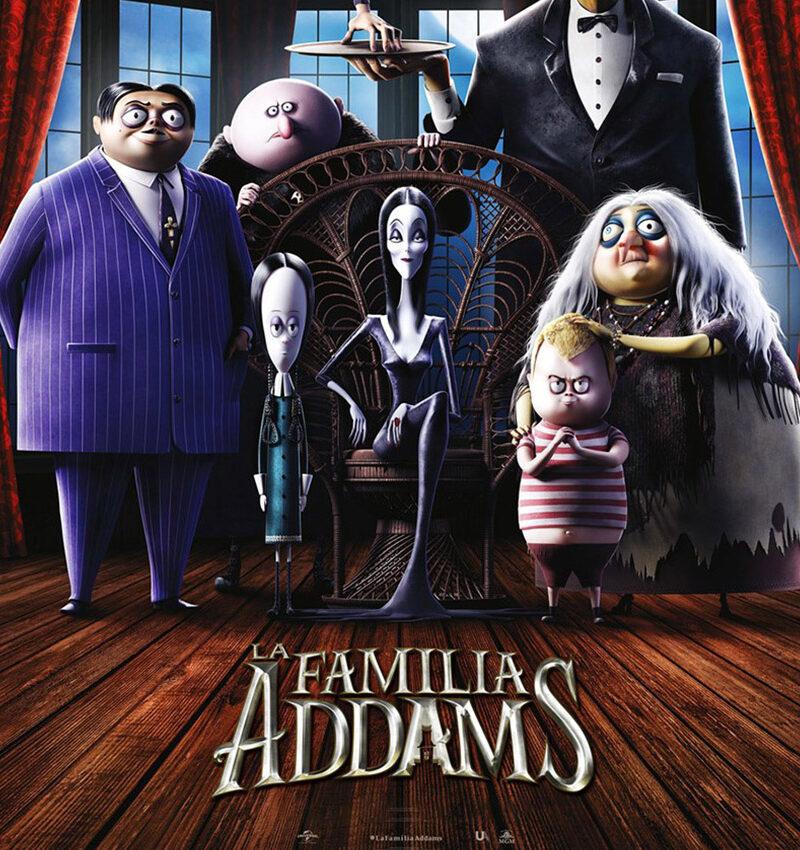 Verano Cultural 2021 – Cine Almerimar «La familia Addams»