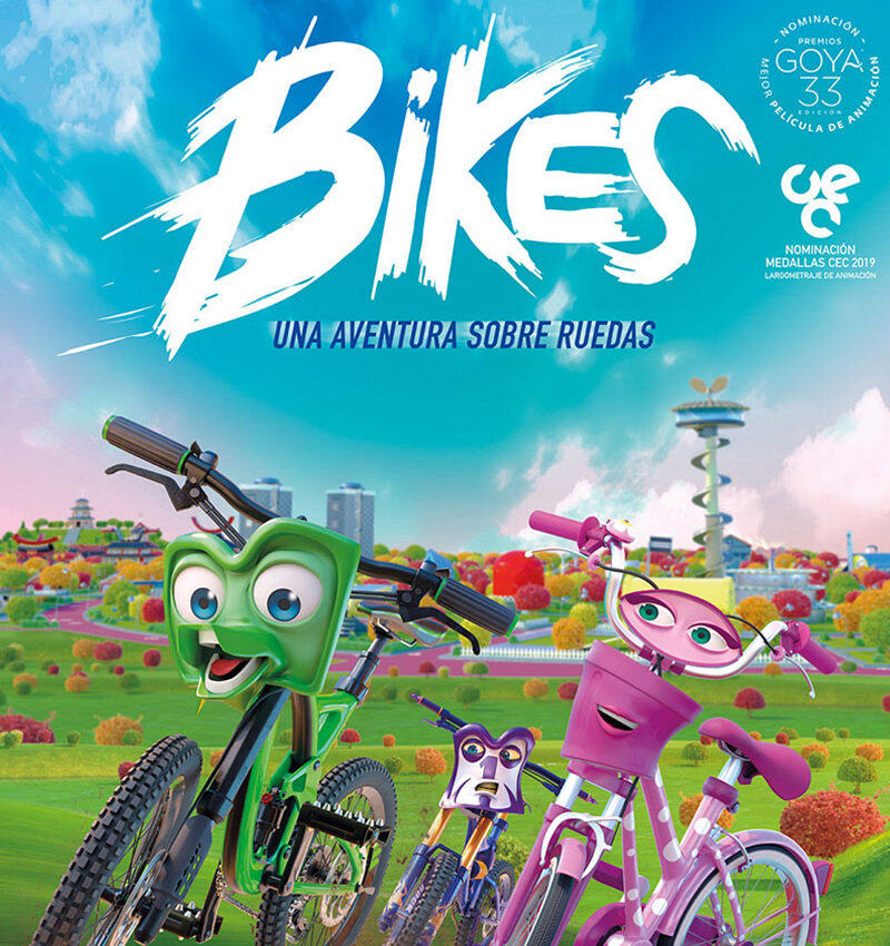Verano Cultural 2021 – Cine Almerimar «Bikes»