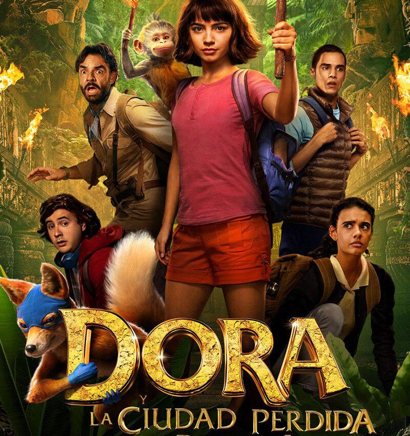 Verano Cultural 2021 – Cine El Ejido «Dora y la ciudad perdida»